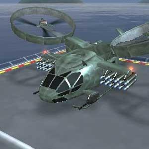 Gunship - Landung