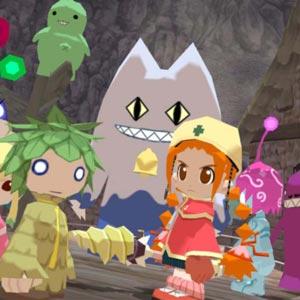 Gurumin A Monstrous Adventure Charaktere