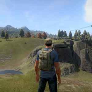 H1Z1 Screenshot: Eine offene Welt Umwelt