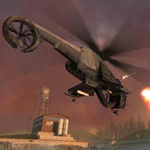 Half Life 2 - Hubschrauber