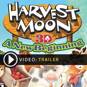 Harvest Moon 3D A New Beginning Nintendo 3DS Digital Download und Box Edition