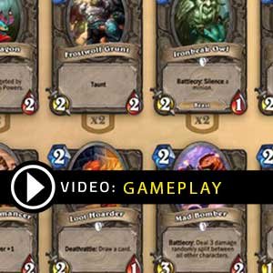 Hearthstone Deck Of Cards Pack 5 Gameplay Video