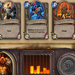 Hearthstone Heroes of Warcraft Deck of Cards Kartenauswahl