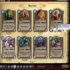 Hearthstone Heroes of Warcraft Deck of Cards Wählen Sie Ihre Karten