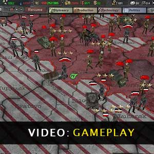 Hearts of Iron 3 Gameplay Video