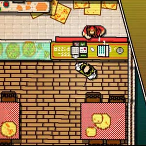 Hotline Miami - Pizza Shop