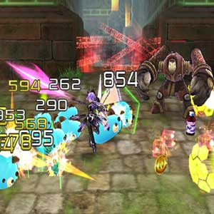 Hyperdimension Neptunia U Action Unleashed Kampf