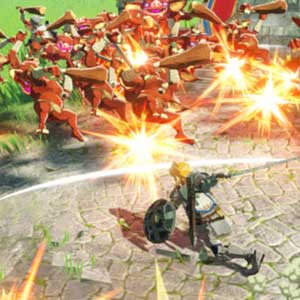 Hyrule Warriors Age of Calamity Angriff