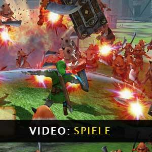 Video zum Gameplay der Hyrule Warriors Definitive Edition