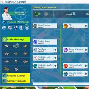 Biotech Fabrik Forschung Industrie