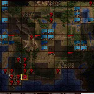 Jagged Alliance 2 Unfinished Business - Map