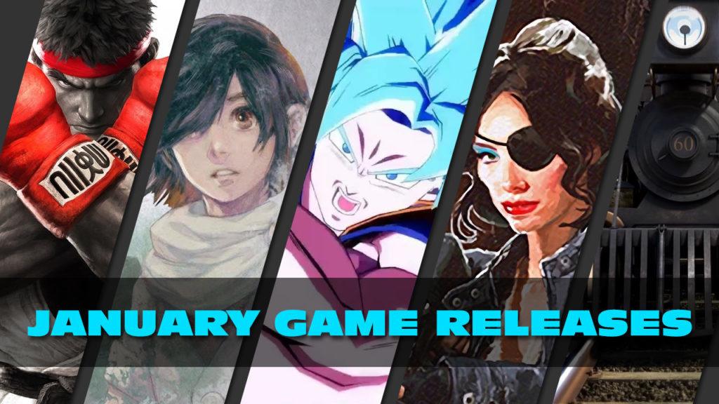 Januar 2018 PC Spiele - Release