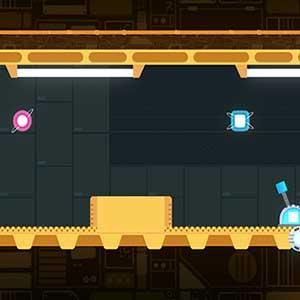 Arcade-Autorunner-artiges Action-Platforming