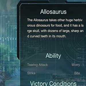 Dinosaurier Profil