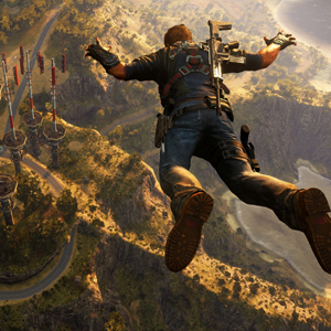 Just Cause 3 PS4 Freefall