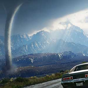 Tornados und tropische Gewitterstürme