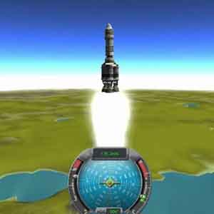 Kerbal Raum Rocket Launch