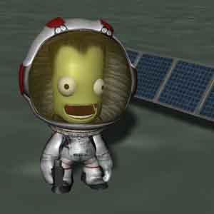 Kerbal im Weltraum
