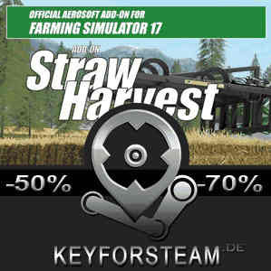 Farming Simulator 17 Straw Harvest Add-On