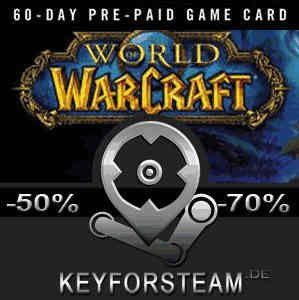 Gamecard World Of Warcraft 60 Tage Key Kode