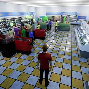 King of Retail - Lebensmittelladen