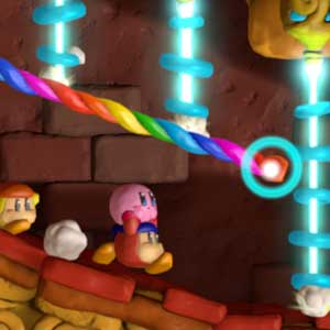 Kirby and the Rainbow Paintbrush Nintendo Wii U Bewegung entlang