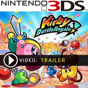 Kirby Battle Royale Nintendo 3DS Digital Download und Box Edition