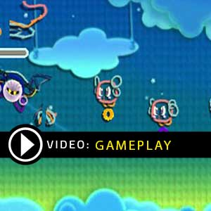 Kirby's Extra Epic Yarn Nintendo 3DS Gameplay Video