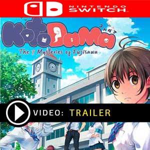 Kotodama The 7 Mysteries of Fujisawa Nintendo Switch Digital Download und Box Edition