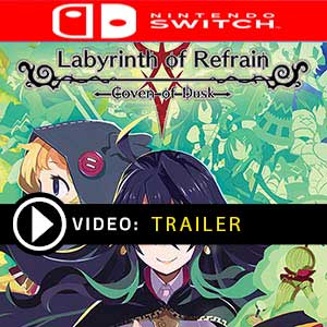 Labyrinth of Refrain Coven of Dusk Nintendo Switch Digital Download und Box Edition