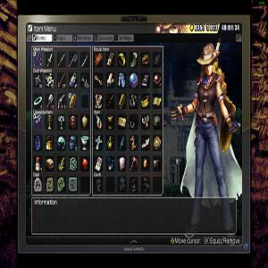 Weapon inventory