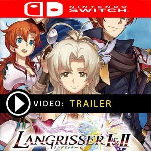 LANGRISSER 1 & 2 Nintendo Switch Digital Download und Box Edition