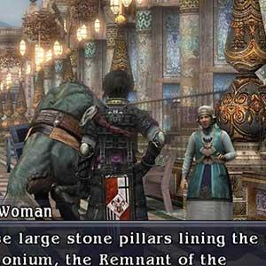 alte Frauen anstarren