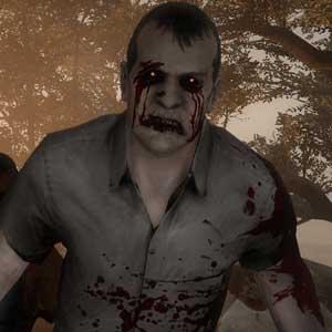 Eine Gruppe von Zombies in Left 4 Dead 2