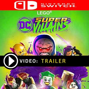 LEGO DC Super-Villains Nintendo Switch Digital Download und Box Edition