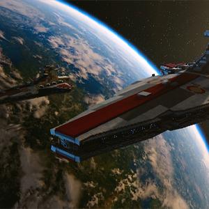 LEGO Star Wars The Skywalker Saga - Republikanischer Angriffskreuzer