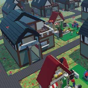 LEGO Worlds Customized Dorf