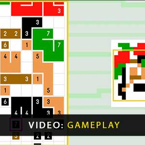 Link-a-Pix Deluxe Gameplay Video
