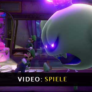 Luigis Mansion 3 Nintendo Switch Gameplay Video