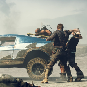 Mad Max PS4 - Max von Banditen überfallen