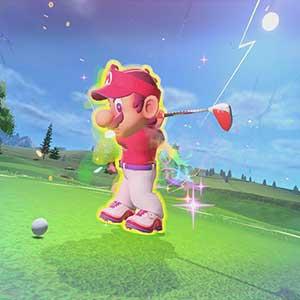 Mario Golf Super Rush Abschlag