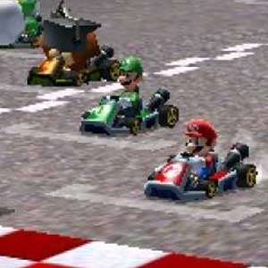 Mario Kart 7 Nintendo 3DS Rennen