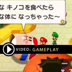 Mario & Luigi Abenteuer Bowser + Bowser Jr.s Reise Nintendo 3DS Gameplay Video