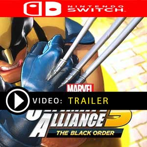 MARVEL ULTIMATE ALLIANCE 3 The Black Order Nintendo Switch Digital Download und Box Edition