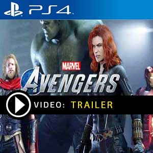 Marvels Avengers Trailer-Video