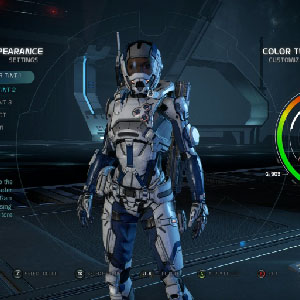 Mass Effect Milky way Waffen