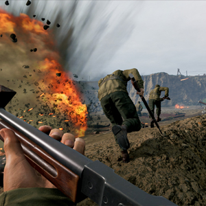 Medal of Honor Above and Beyond VR Graben