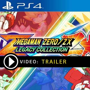 Mega Man Zero ZX Legacy Collection PS4 Prices Digital or Box Edition