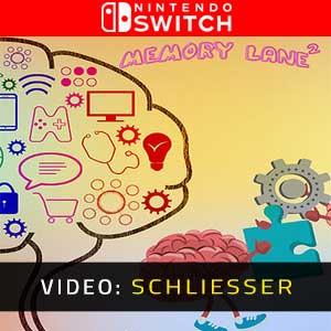 Memory Lane 2 Nintendo Switch Video-Trailer