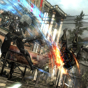 Metal Gear Rising Revengeance Schlacht